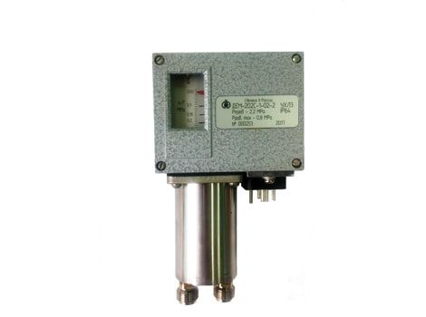 Differential pressure control switches ДЕМ-202С