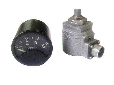 Pressure indicator units ИД-1 (with pressure heads ПД-1)