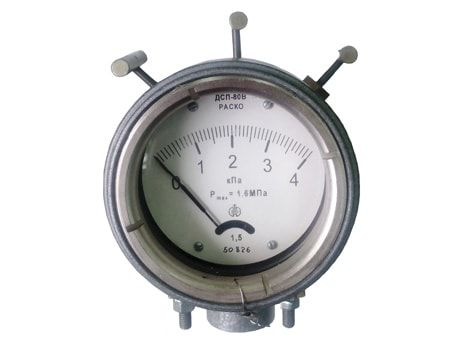 Pointer indicating differential pressure gauges ДСП-80 РАСКО,ДСП-80В РАСКО
