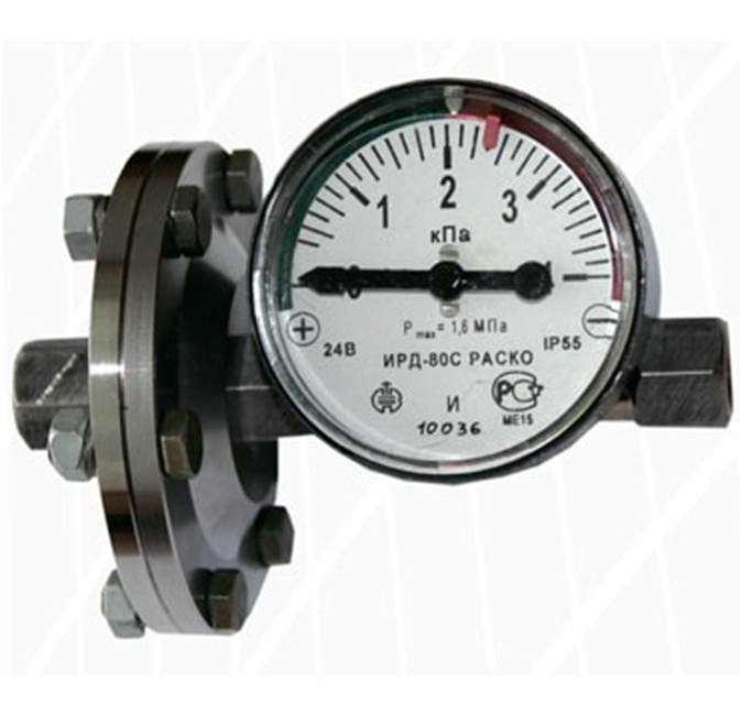 Differential pressure indicators ИРД-80 РАСКО