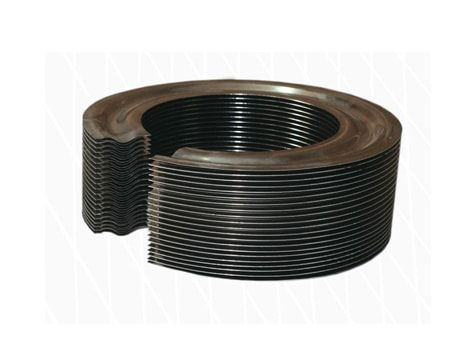 Welded steel diaphragm bellows